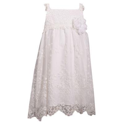 Bonnie Jean Sleeveless A-Line Dress - Preschool Girls