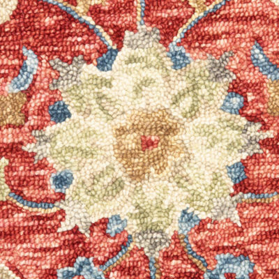 Dazzle Jacobean Diamond Round Rug