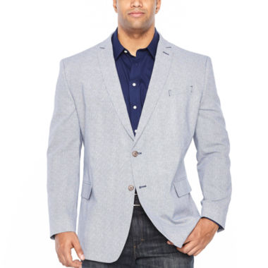 JF J.Ferrar Diamond Sport Coat - Big and Tall