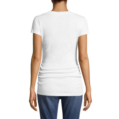 Planet Motherhood V-Neck Tee - Maternity