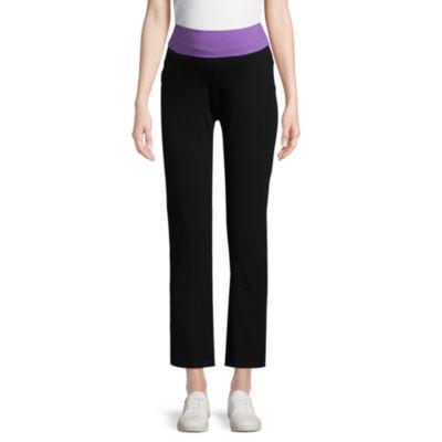 Planet Motherhood Knit Yoga Pants - Maternity