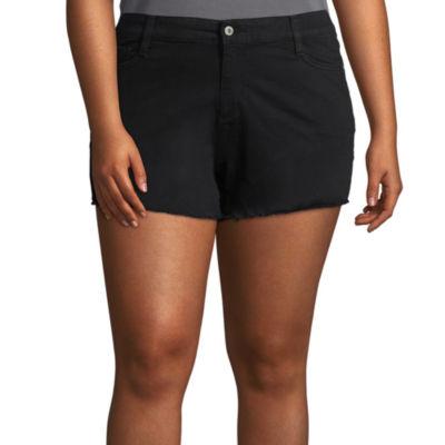Arizona Twill Chino Shorts-Juniors Plus