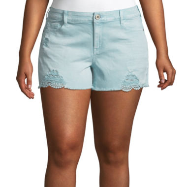 "Arizona 2 1/2"" Shorts-Juniors Plus"