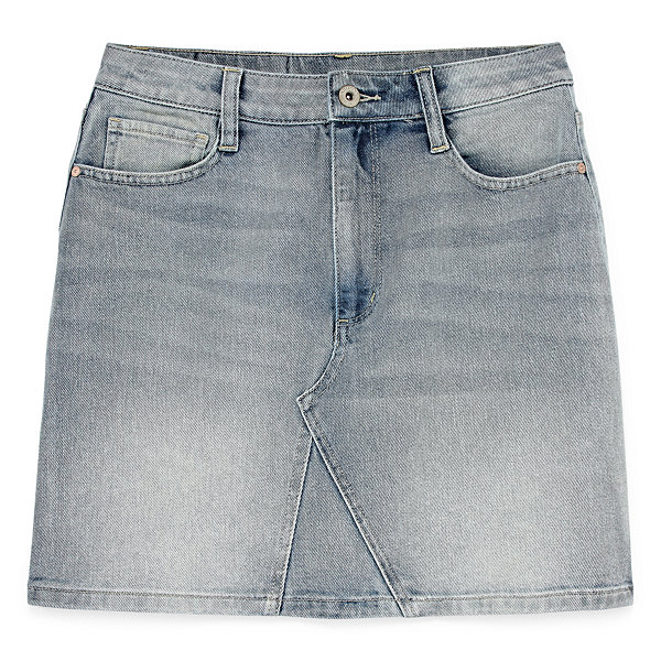 Arizona Denim Skirt-Juniors
