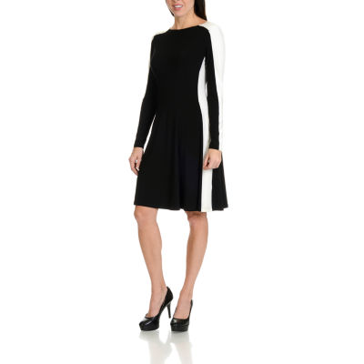 Harve Benard Color Block Dress