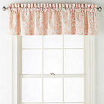 Home Expressions Sophie Rod-Pocket Tailored Valance