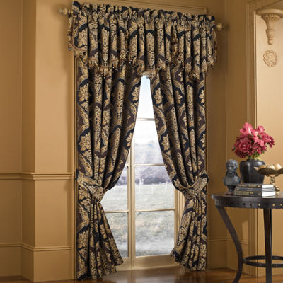 Five Queens Court Reilly 84Inch Curtain Panel