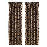 Five Queens Court Reilly Rod-Pocket Curtain Panel