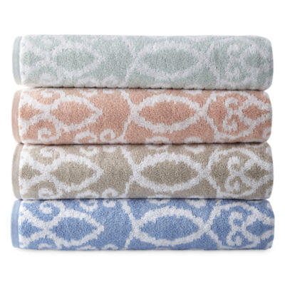 Royal Velvet Riviera Yarn Dyed Bath Towels Bath Towel