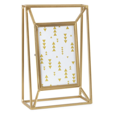 4x6 Tabletop Gold Metal Wire Frame