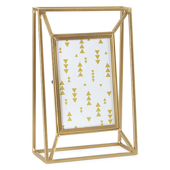 4x6 Tabletop Gold Metal Wire Frame JCPenney