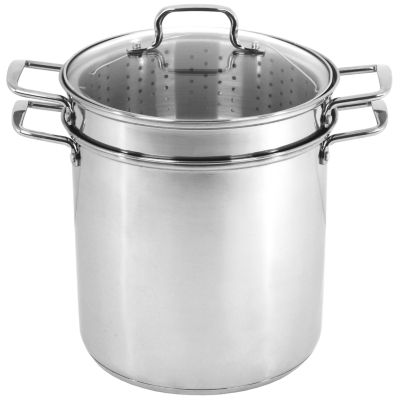 Oneida 12qt Ss Multicooker Stainless Steel Dishwasher Safe Stockpot