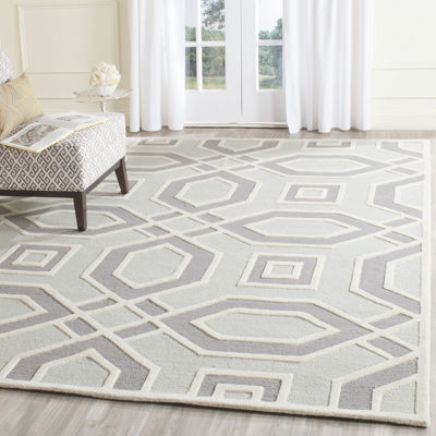 Safavieh Raquel Geometric Hand Tufted Wool Rug