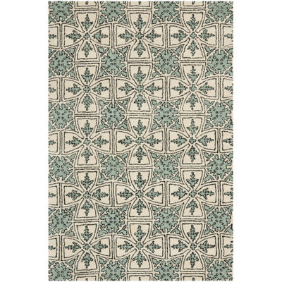 Safavieh Orville Geometric Hand Tufted Wool Rug