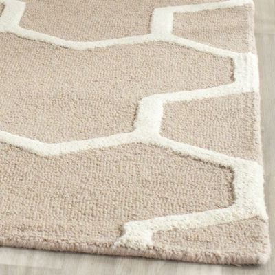 Safavieh Mckayla Geometric Hand Tufted Wool Rug