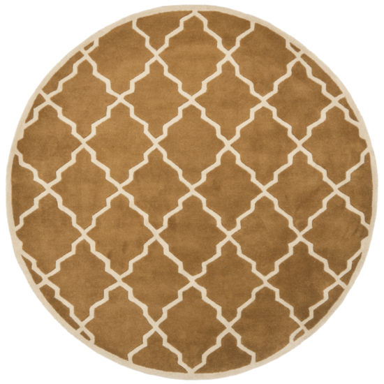 Safavieh Tiffany Geometric Hand Tufted Wool Rug
