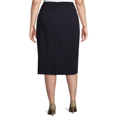 Worthington Pencil Skirt - Plus