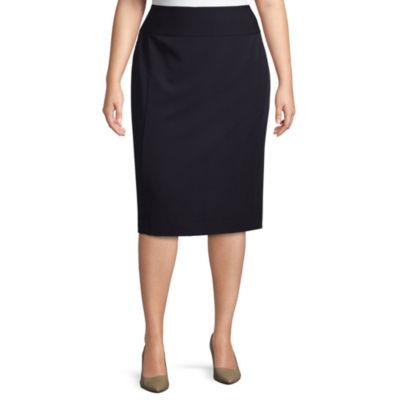 Worthington Pencil Skirt-Plus