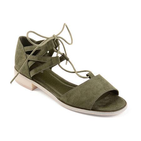 Journee Collection Womens Ingrid Slip-On Shoe, 7 Medium, Green