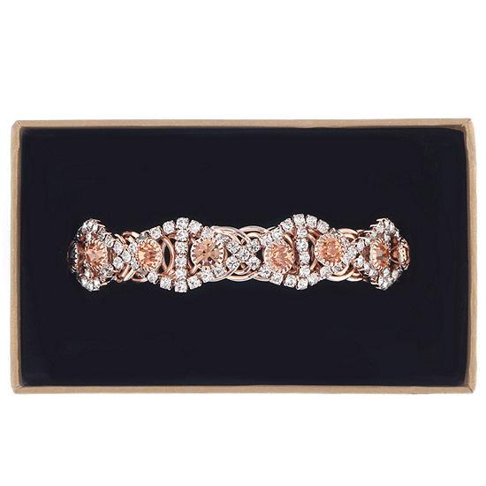 Monet Jewelry Womens Orange Wrap Bracelet