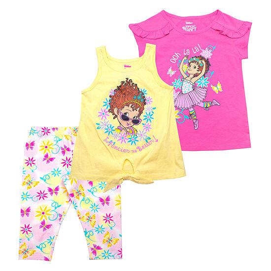 Disney 3-pc. Legging Set-Toddler Girls