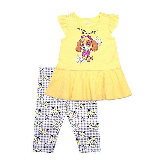 Girls 2-pc. Paw Patrol Legging Set-Toddler