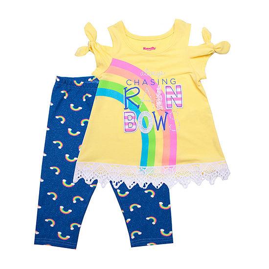 Nanette Baby 2 Pc Legging Set Toddler Girls