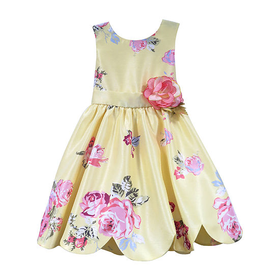 Lilt Girls Sleeveless Party Dress - Toddler