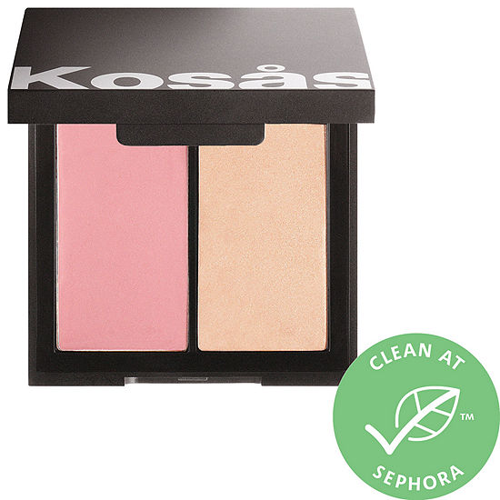 KOSAS Color & Light: Crème Cream Blush & Highlighter Duo