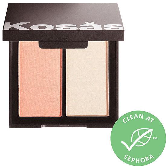 Kosas Color Light Pressed Powder Blush Highlighter Duo