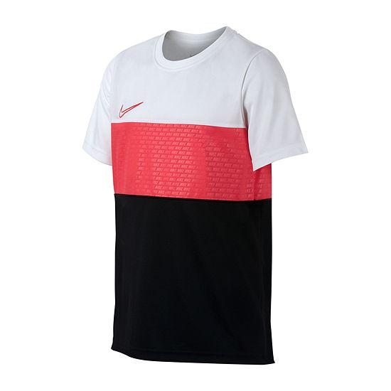 Nike Girls Crew Neck Short Sleeve Dri-Fit T-Shirt-Big Kid
