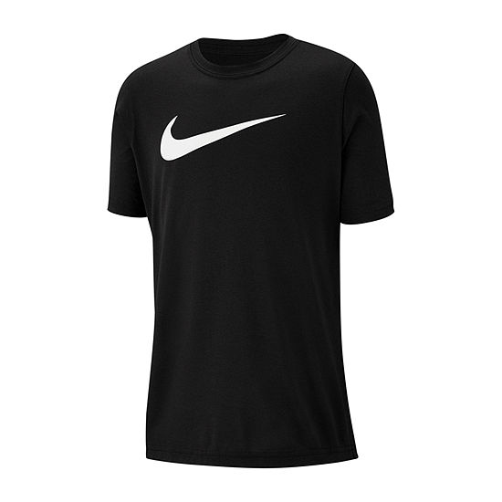 Nike Boys Crew Neck Short Sleeve Dri-Fit Graphic T-Shirt - Big Kid