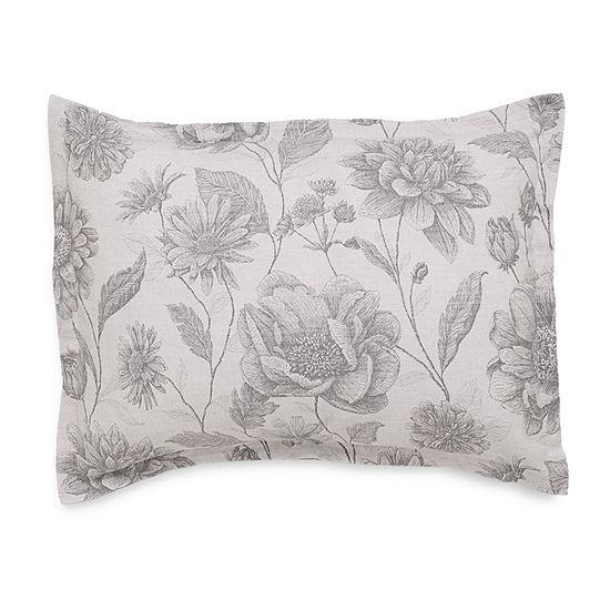 Ecopure Meadow Walk Comfort Wash Floral Midweight Comforter Set