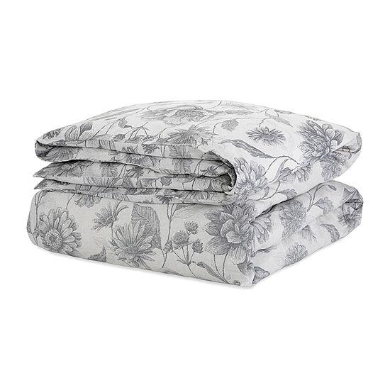 Ecopure Meadow Walk Comfort Wash Floral Duvet Cover Set