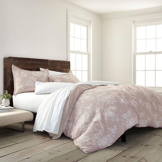 Ecopure Sienna Comfort Wash Floral Midweight Comforter Set