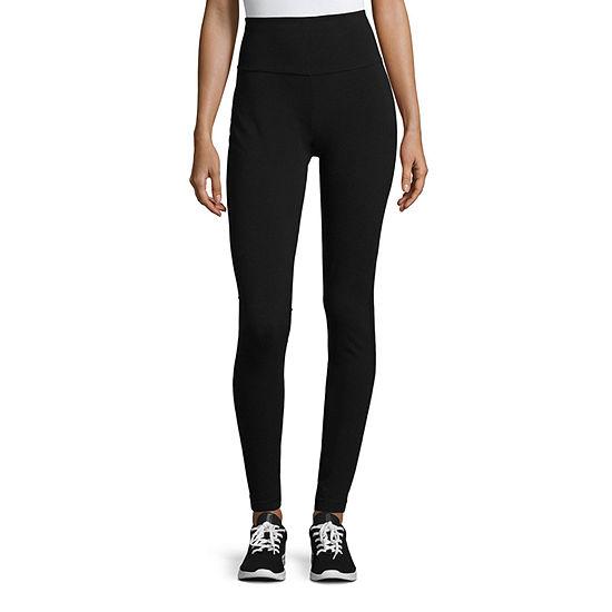 St. John's Bay Active Womens Mid Rise Full Length Leggings Tall