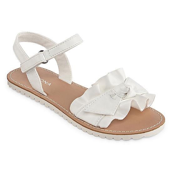 c68853c329808 Arizona Little Kid Big Kid Girls Hope Ankle Strap Flat Sandals - JCPenney
