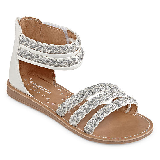 Arizona Little Kids Girls Geneva Gladiator Sandals