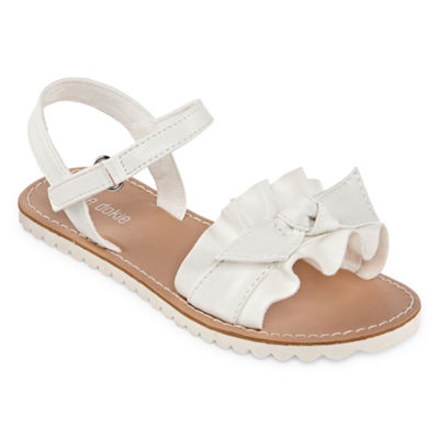 Okie Dokie Toddler Girls Lil Hope Ankle Strap Flat Sandals