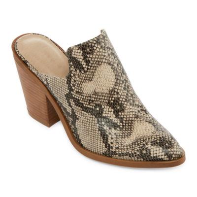 Zigi Soho Womens Maurine Mules Slip-on Pointed Toe
