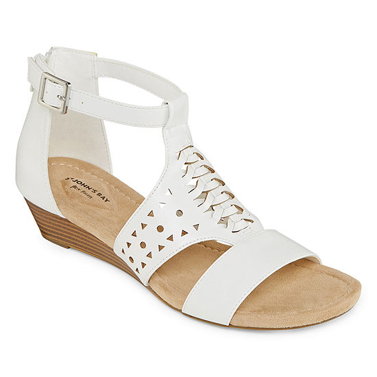 St. John's Bay Womens Noreen Wedge Sandals