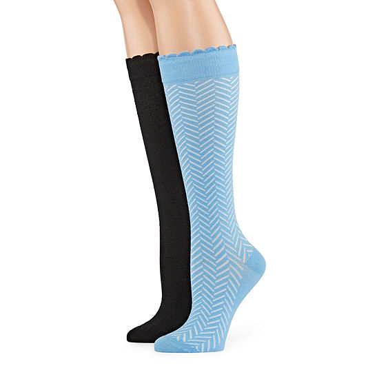 Mixit Marled 2 pair Over the Calf Socks– Womens
