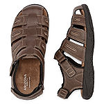 Arizona Little/Big Kid Boys Az Cash Jr. Adjustable Strap Flat Sandals