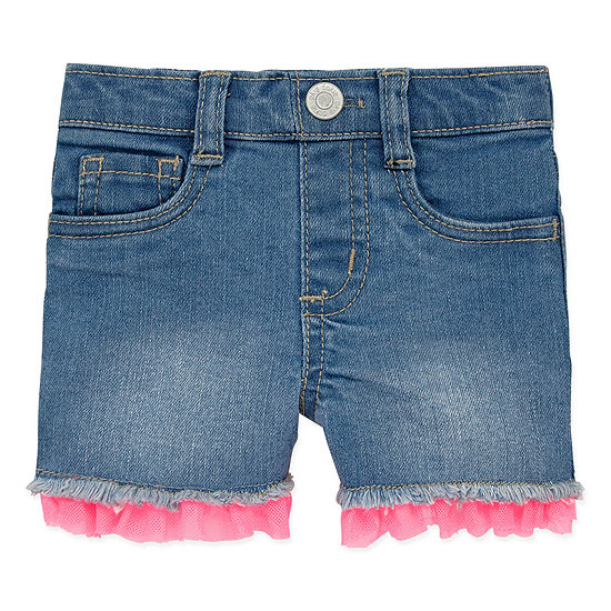 Okie Dokie Girls Denim Short - Baby