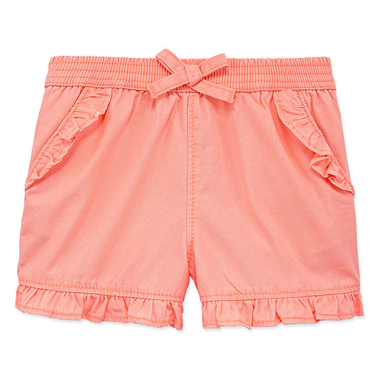 fc9fca387 Okie Dokie Girls Pull-On Short Toddler - JCPenney
