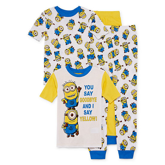 Despicable Me 4-pc Pajama Set - Boys