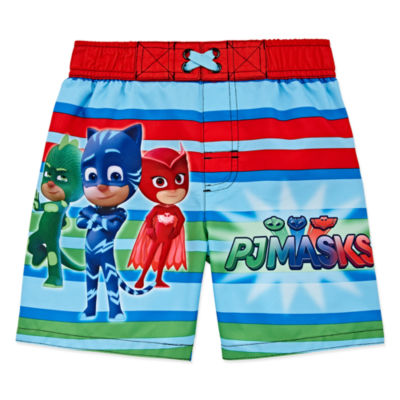 Boys PJ Masks Swim Trunks-Toddler