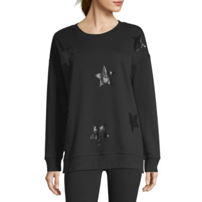Xersion French Terry Foil Star Sweatshirt
