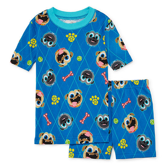 Disney Collection Boys 2-pc. Puppy Dog Pals Pajama Set Toddler