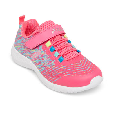 Fila Overfuel 2.5 Girls Running Shoes Hook and Loop